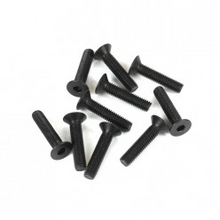 TKR1325 M3x14mm Flat Head Screws (black, 10pcs)