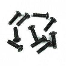 TKR1445 M4x14mm Button Head Screws (black, 10pcs)