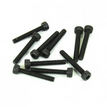 TKR1529 3x20mm Cap Head Screws (black, 10pcs)