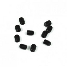 TKR1601 M3x4mm Set Screws (black, 10pcs)