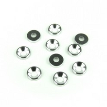 TKR1220 – M3 Countersunk Washers (aluminum, natural, 10pcs)