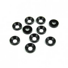 TKR1228 – M4 Countersunk Washers (black anodized, 10pcs)