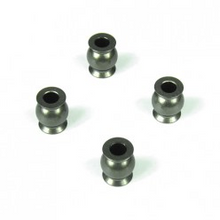 TKR5053A – Pivot Balls (6.8mm, flanged, outside camber, aluminum, 4pcs)