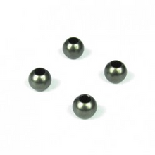 TKR5049A – Pivot Balls (6.8mm, no flange, sway bars, shock ends, aluminum, 4pcs)
