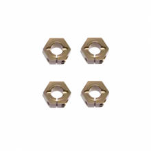 TKR1654X – 12mm Aluminum Hex Adapters for Tekno ET410 /EB410 +1mm/SCT410, Slash/Stampede M6 Driveshafts and AE SC10 4×4