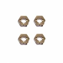 TKR1654X – 12mm Aluminum Hex Adapters for Tekno ET410 /EB410 +1mm/SCT410, Slash/Stampede M6 Driveshafts and AE SC10 4×4