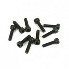TKR1524 – M3x12mm Cap Head Screws (black, 10pcs)