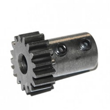 TKR4159 – Long Shank Pinion (hard steel, Mod 1, 5mm bore, 19t)