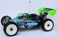 Assassin body (clear) for Kyosho MP9 TKI Nitro buggy