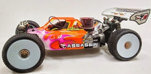 Assassin body (clear) for Mugen MBX6/7 R nitro buggy