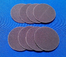 "Diff conditioner tool sanding/polishing disks (8) ""Medium grit"""