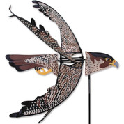 Flying Peregrine Falcon Spinne