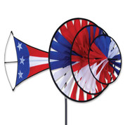 Large Patriotic Triple Spinner