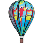 "22"" 5'O Clock Hot Air Balloon Spinner"