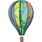 "22"" Dragonfly Hot Air Balloon Spinner"