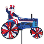Uncle Sam On A Tractor