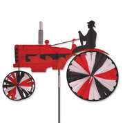 38 In. Tractor Spinner Red
