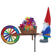 Gnome & Wheelbarrow Spinner