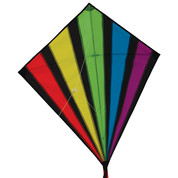 "33"" Rainbow Burst Diamond Kite"