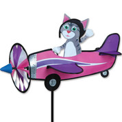 Gray Kitty Pilot Pal Spinner