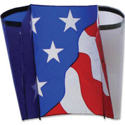 Patriotic Power Sled 10 Kite