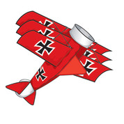 3D Battle Baron Airplane Kite