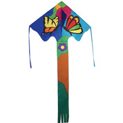 Butterfly Flowers Fly-Hi Easy Flyer Kite