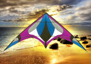 Freebird Purple Stunt Kite