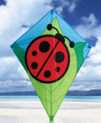 "26"" Lady Bug Diamond Kite"