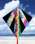 "32"" Tie-Dye Diamond Kite"