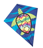 "40"" Sea Turtle Diamond Kite"