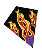"40"" Flames Diamond Kite"