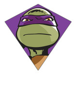 "23"" Donatello TMNT Nylon Diamond Kite"