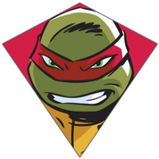 "23"" Raphael TMNT Nylon Diamond Kite"