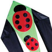 "45"" Ladybugs Flo-Tail Kite"