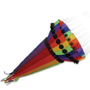 10 Ft. Rainbow Wind Cone Kite