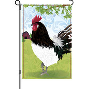 12 In Flag - Barnyard Rooster