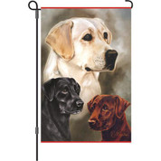 12 In Flag - Labradors