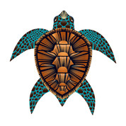"40"" Sea Turtle Sea Life Kite"