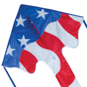 Patriotic Large Easy Flyer Delta Kite