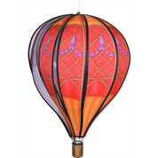 Hot Air Balloon - 22 in. Red Vintage