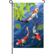 12 in. Flag - Koi Pond