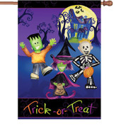 28 in. Flag - Trick or Treaters