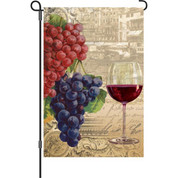 12 in. Flag - Vintage Wine
