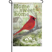 12 in. Flag - Home Sweet Home