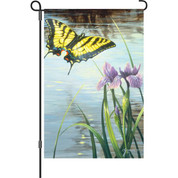 12 in. Flag - Swallowtail And I
