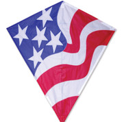 "Patriotic 30"" Diamond Kite"