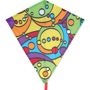 Rainbow Orbit Diamond Kite