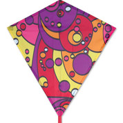 "Warm Orbit 30"" Diamond Kite"