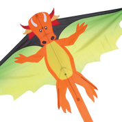 Orange Dragon Mystic Flyer Kite